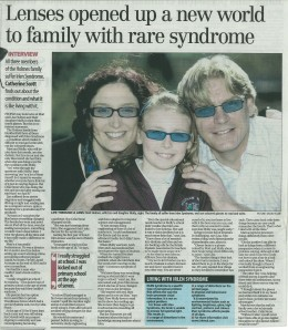 Yorkshire Post Article on Irlen Syndrome
